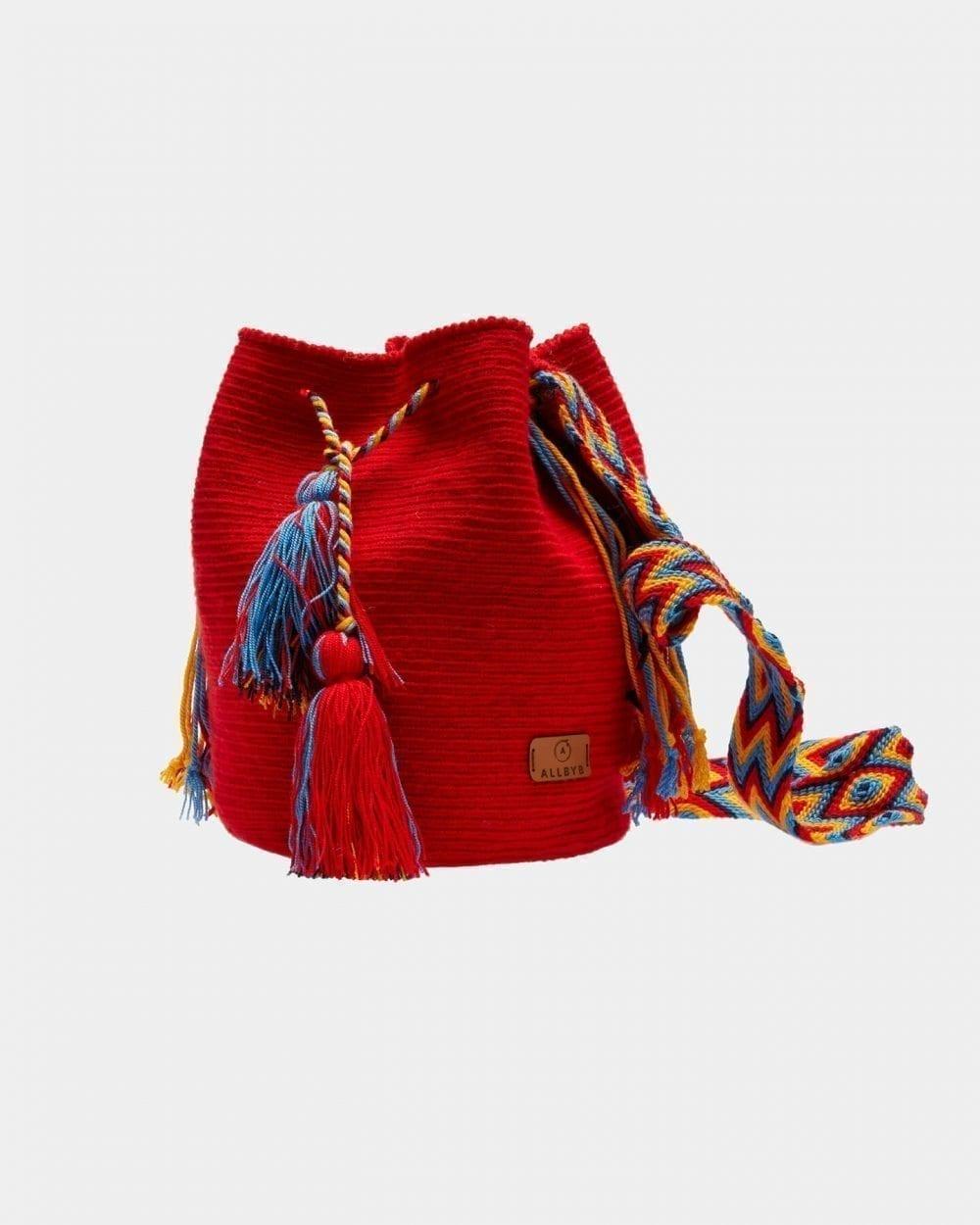 Maribel Red shoulder bag by ALLBYB Design, Philadelphia