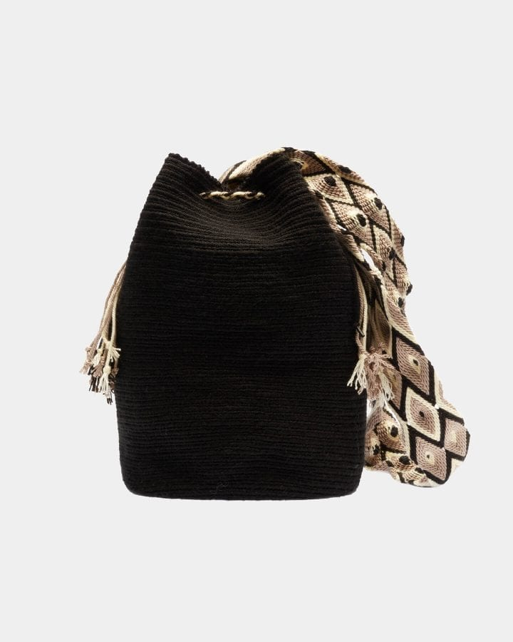 Maribel Black shoulder bag by ALLBYB Design, Philadelphia