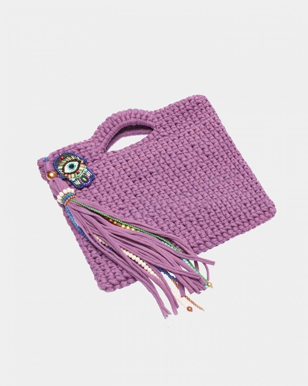 Collette Purple handbag by ALLBYB Design, Philadelphia