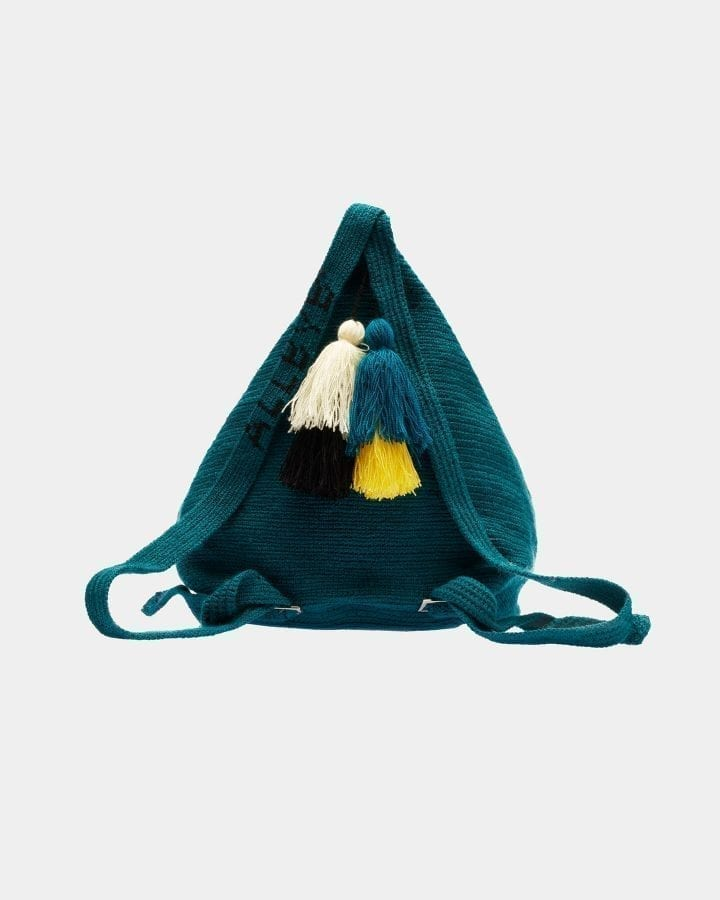 Grace Green Backpack bag by ALLBYB Design, Philadelphia