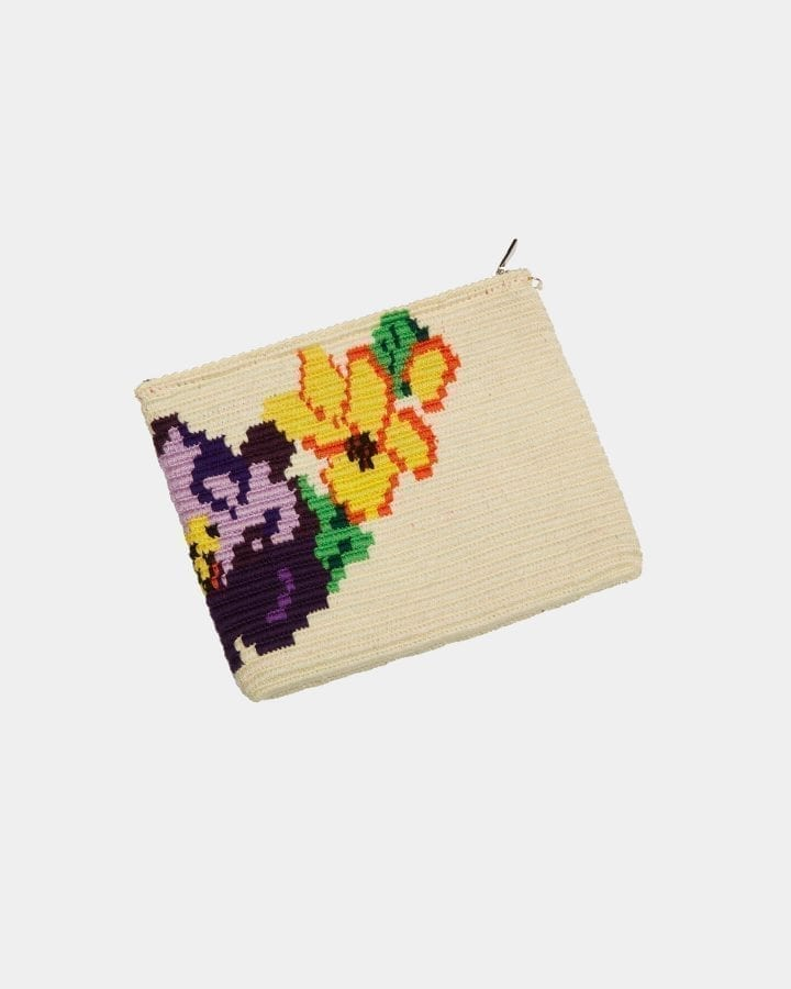 Harmony Flower clutch by ALLBYB Design, Philadelphia