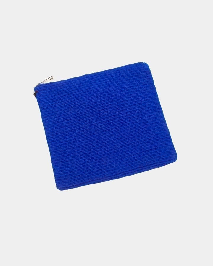 Harmony Blue ZigZag clutch by ALLBYB Design, Philadelphia