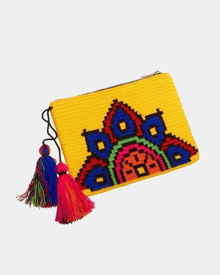 Harmony Yellow clutch by ALLBYB Design, Philadelphia
