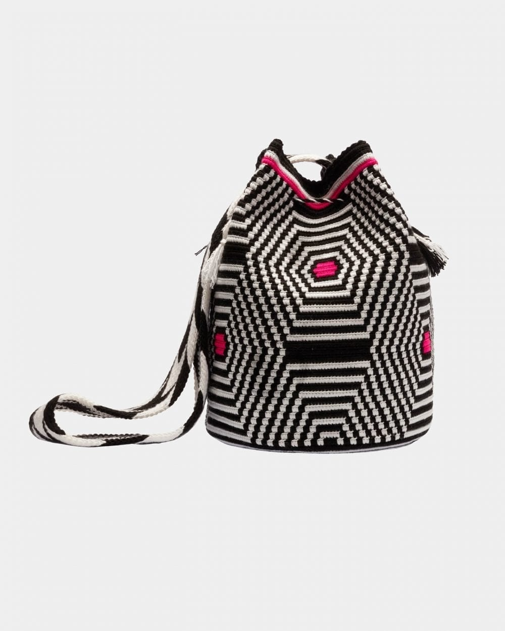 Lea Black & White shoulder bag by ALLBYB Design, Philadelphia