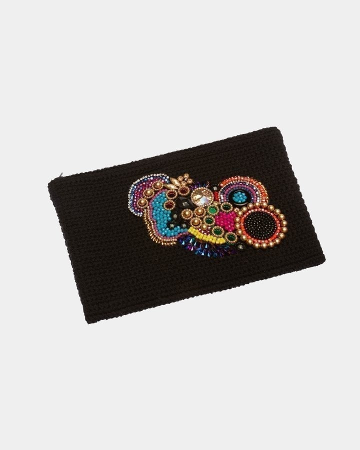 Signature Black clutch by ALLBYB Design, Philadelphia