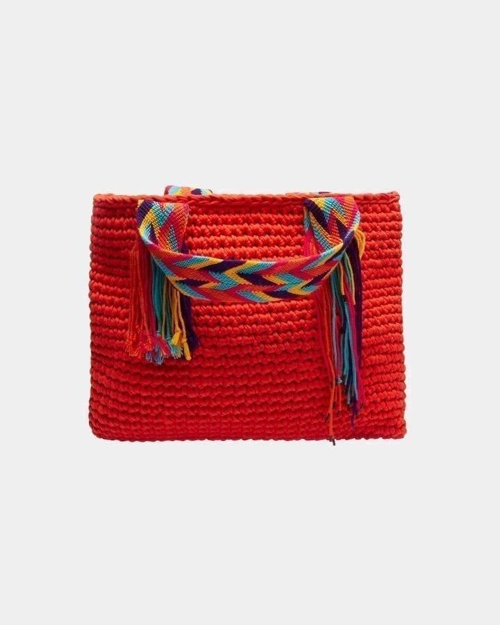 Venice Red beach bag by ALLBYB Design, Philadelphia