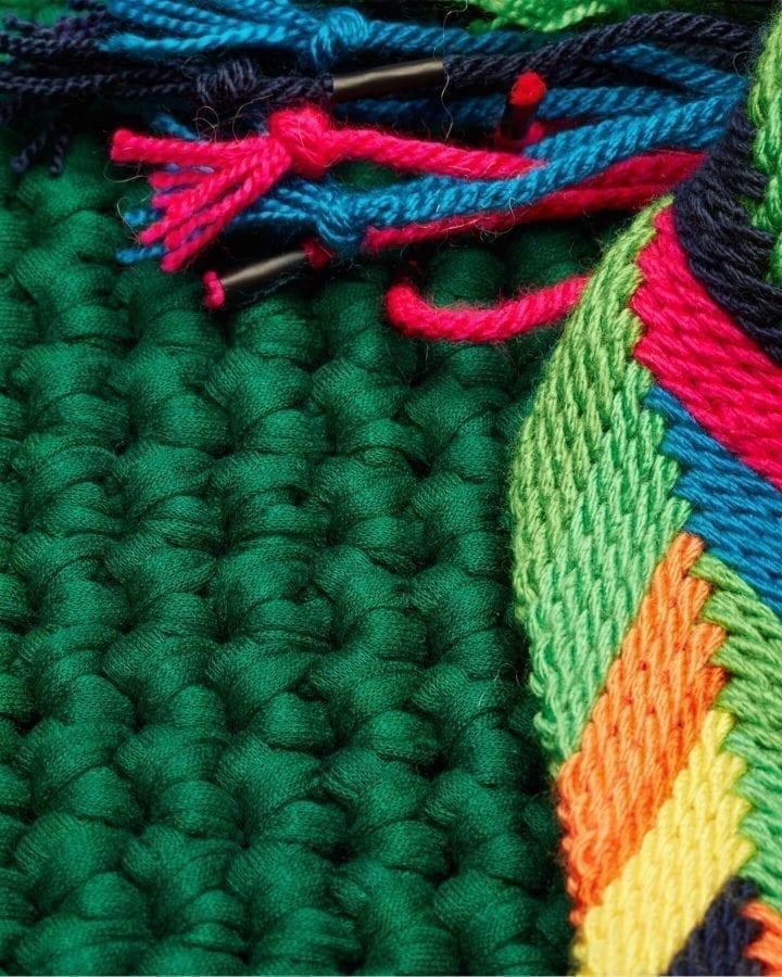 Venice Green beach bag by ALLBYB Design, Philadelphia
