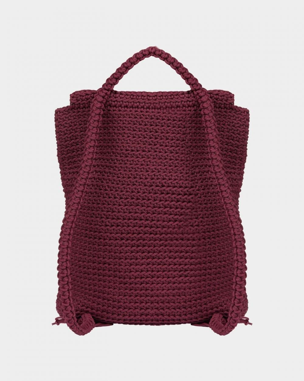 Grace Burgundy backpack