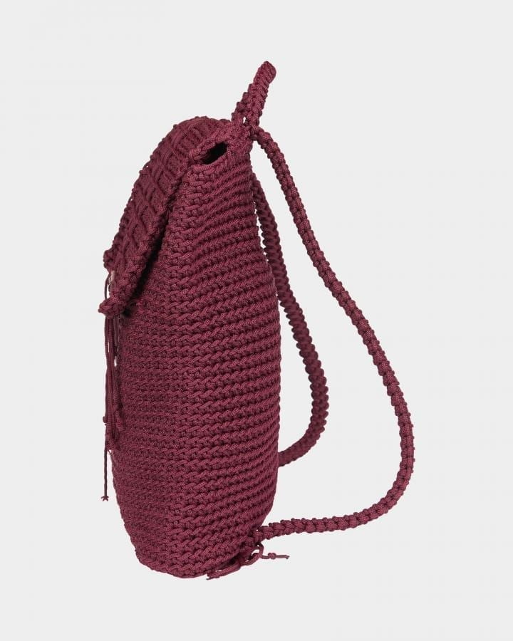 Grace Burgundy backpack