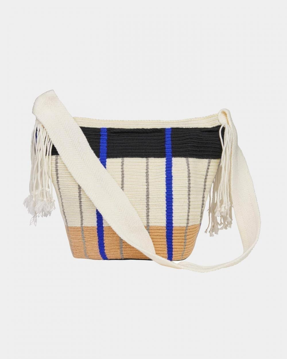 Lea Blue & White shoulder bag