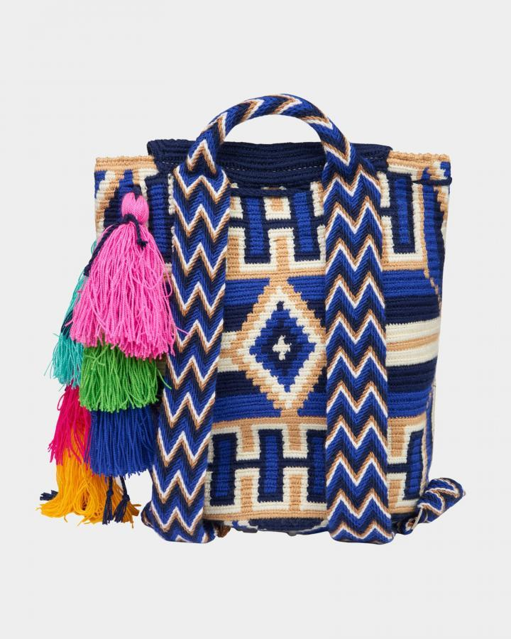 Grace Wayuu Midnight backpack