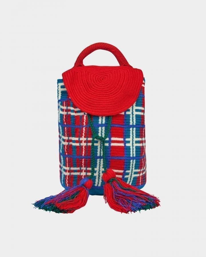 Grace Wayuu Reddish backpack