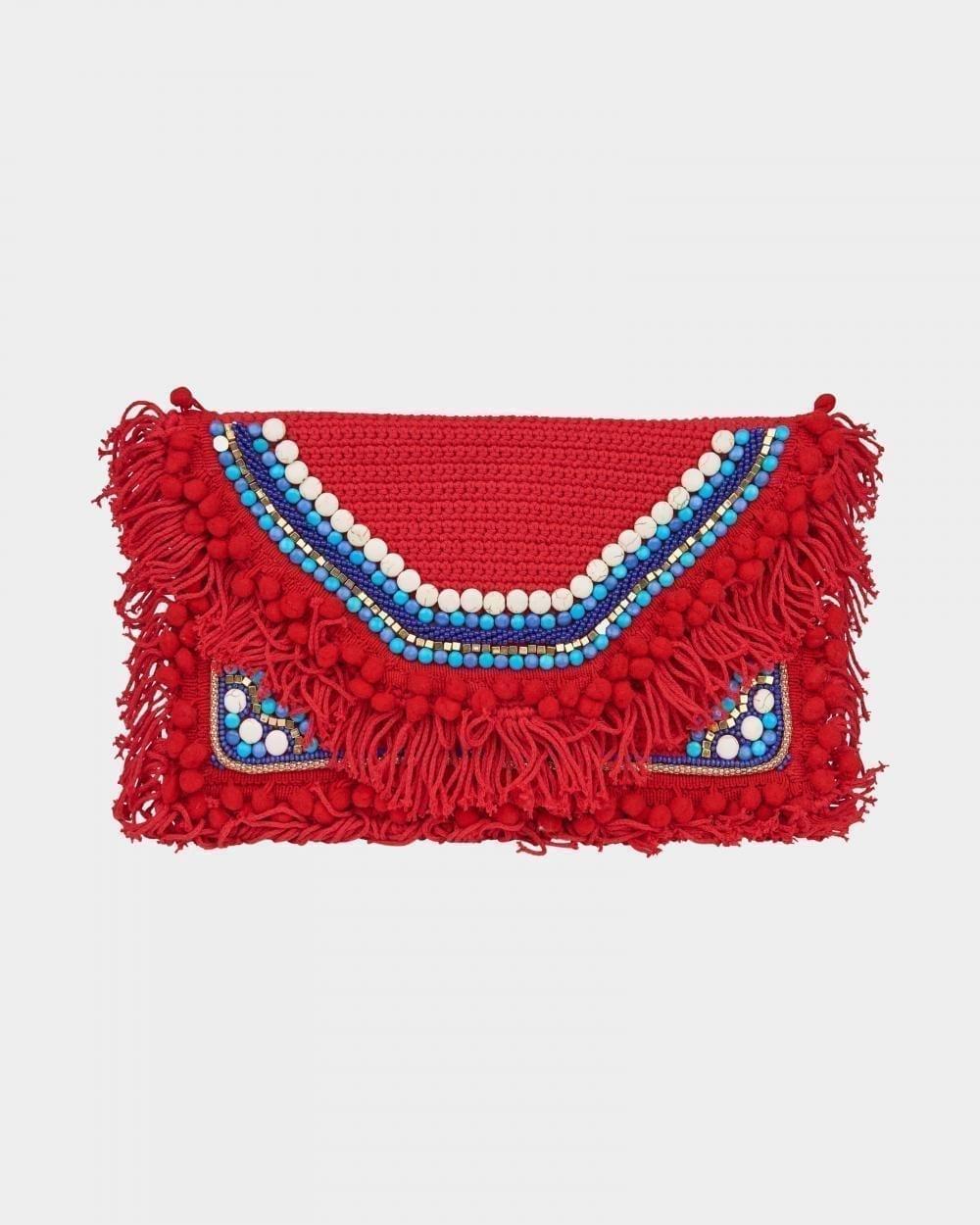 Signature Gypsy Red Clutch