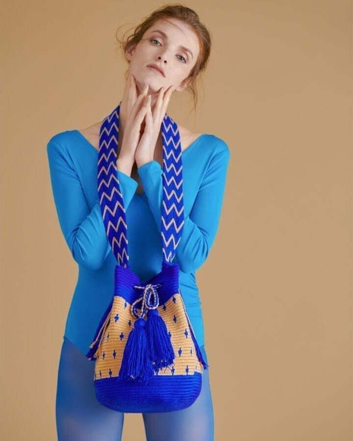 Lea Blue Beige